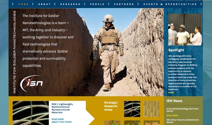 The Institute for Soldier Nanotechnologies